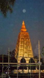Evening in Bodhgaya