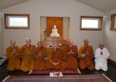 Tisarana monastics 2014 rains retreat